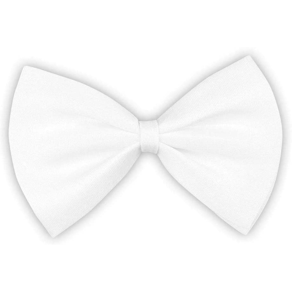 White Bow Tie For Show Costume/Fancy Dress