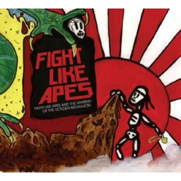 Fight Like Apes - Fight Like Apes And The Mystery Of The Golden Medallion CD