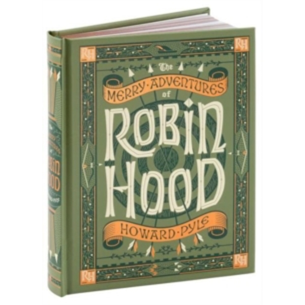 The Merry Adventures of Robin Hood (Barnes & Noble Children's Leatherbound Classics) by Howard Pyle (Leather / fine binding, 2016)