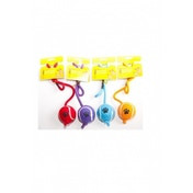 Rosewood Small Tennis Ball On Rope Dog Toy (BLUE)