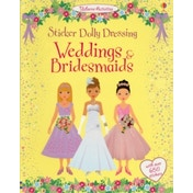 Sticker Dolly Dressing Weddings and Bridesmaids by Lucy Bowman, Fiona Watt (Paperback, 2011)