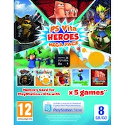 Sony PlayStation Vita Hero Mega Pack + 8GB Memory Card PS Vita