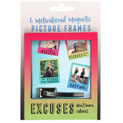 Set of 4 Motivational Magnetic Picture frames