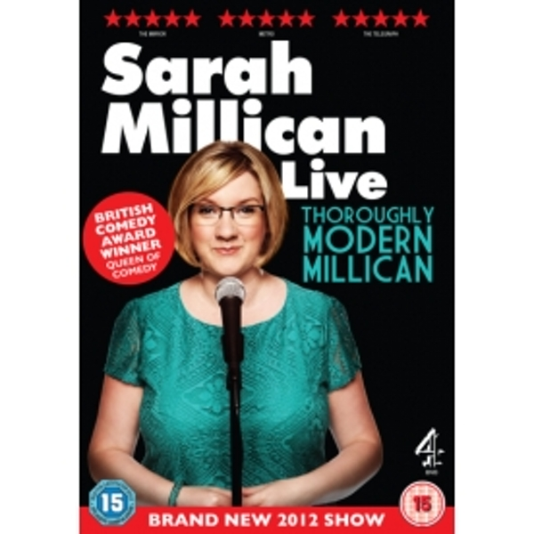 Sarah Millican Thoroughly Modern Millican Live DVD