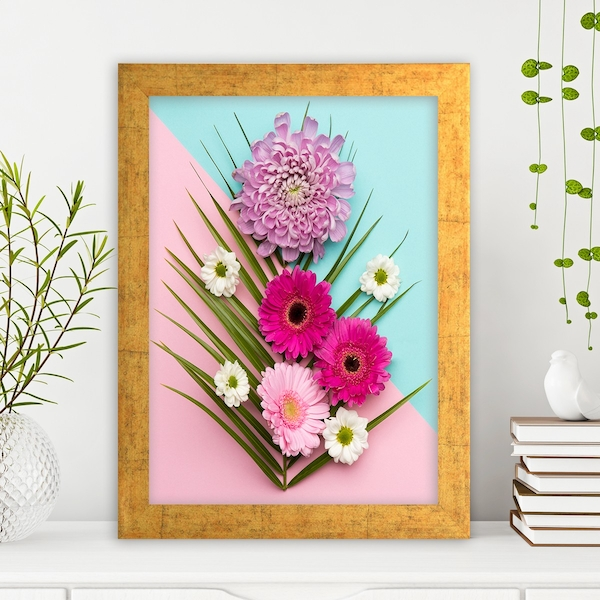 AC1043973199 Multicolor Decorative Framed MDF Painting