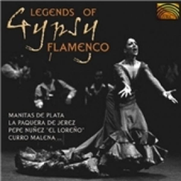 The Legends Of Gypsy Flamenco CD