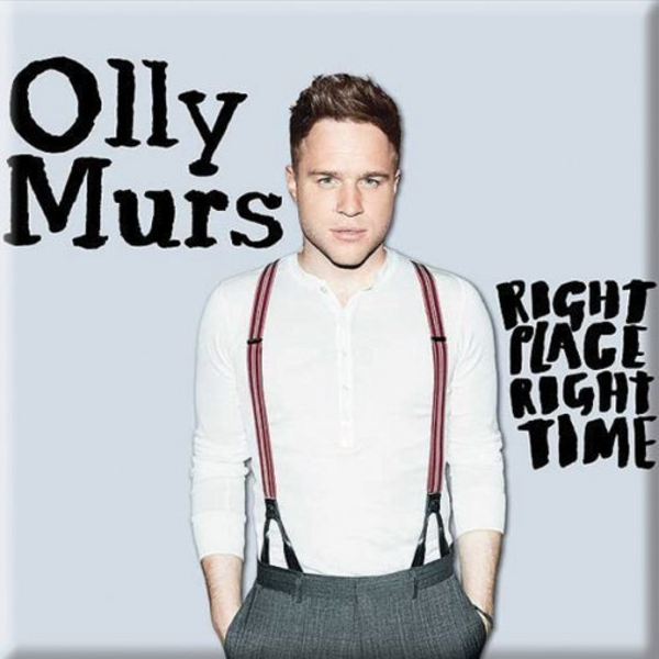 Olly Murs - Right Time Fridge Magnet