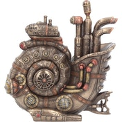 Steam Ammonite Figurine