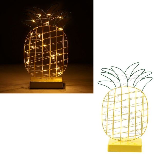 Wire Pineapple Decorative LED Light