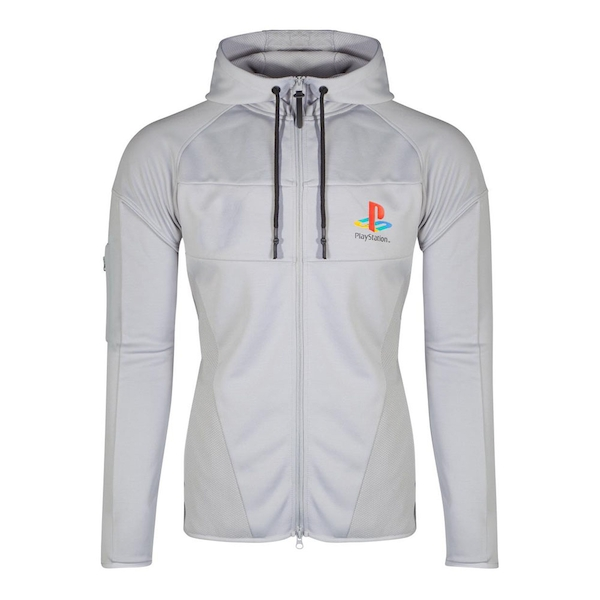 Sony - Ps One Logo Men's Small Hoodie - Grey