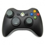 Ex-Display Elite Official Wireless Gamepad Controller BLACK (Bagged) Xbox 360 Used - Like New