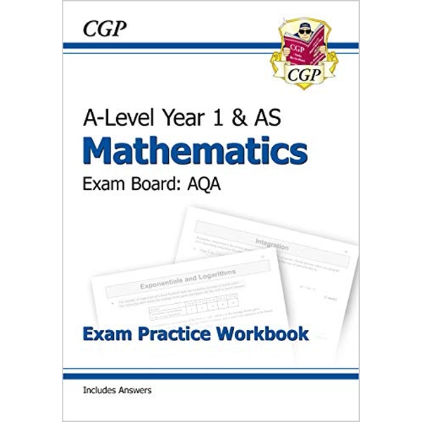 New A-Level Maths for AQA: Year 1 & AS Exam Practice Workbook by CGP Books (Paperback, 2017)