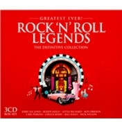 Greatest Ever! Rock 'N' Roll Legends CD