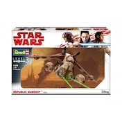 Star Wars Republic Gunship Level 3 Model Kit