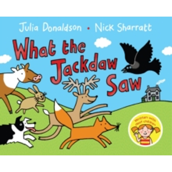 What the Jackdaw Saw by Julia Donaldson (Paperback, 2015)