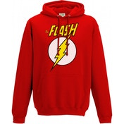 The Flash Logo And Symbol Unisex Large Hoodie - Red