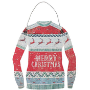 Merry Christmas Jumper Hanging Decoration