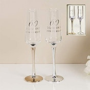 AMORE BY JULIANA? Straight Flute Set of 2 - 60th Anniversary