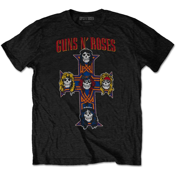 Guns N' Roses - Vintage Cross Men's XX-Large T-Shirt - Black