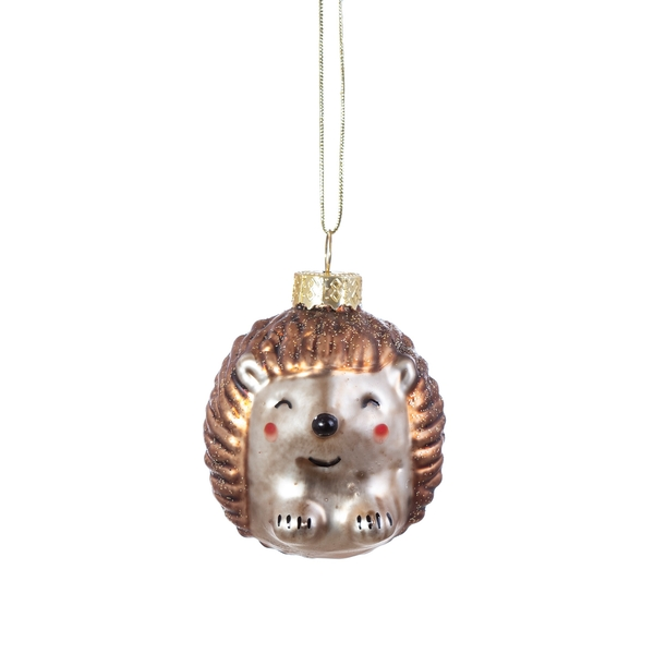 Sass & Belle Baby Hedgehog Shaped Bauble