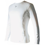 PT Base-Layer Long Sleeve Crew-Neck Shirt Small White