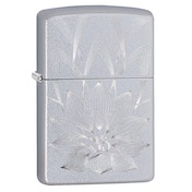 Zippo Lotus Ohm Chrome Regular Windproof Lighter
