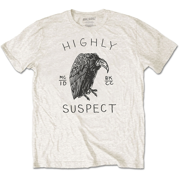 Highly Suspect - Vulture Unisex Large T-Shirt - Neutral