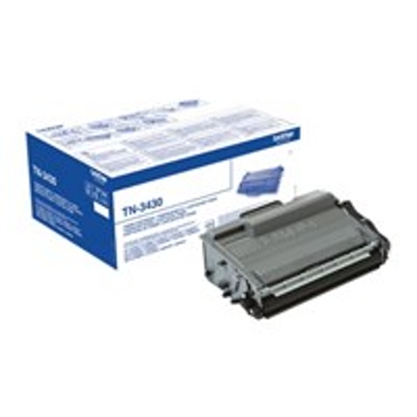 Brother TN-3430 Toner black, 3K pages