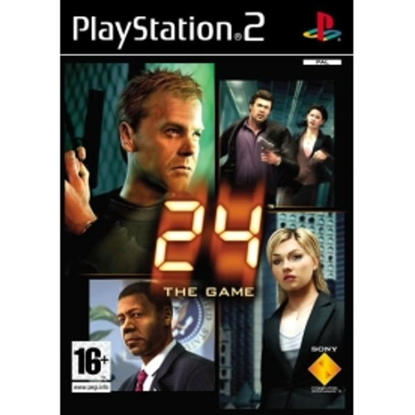 24 The Video Game PS2