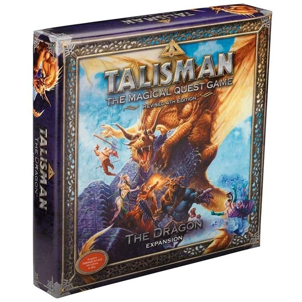 Talisman: The Dragon Expansion Board Game