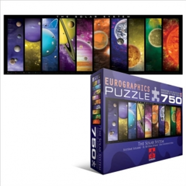 Eurographics Puzzle 750 Pc - The Solar System (Panorama)