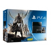 PlayStation 4 (500GB) Black Console with Destiny
