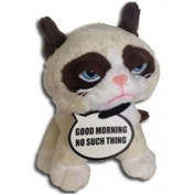 Grumpy Cat 5 inch Sitting Grumpy Cat Plush with Hang Tag