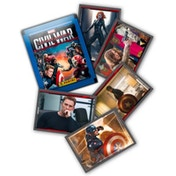 Captain America Movie Sticker Collection (50 Packs)