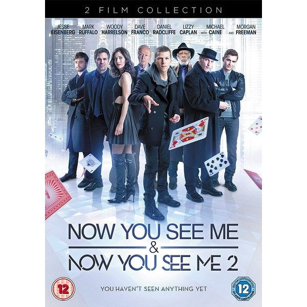 2 Film Collection: Now You See Me & Now You See Me 2 DVD