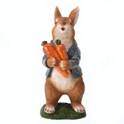 Country Living Suited Rabbit Garden Ornament