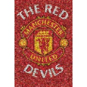 Manchester United Mosaic Maxi Poster