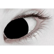 Blind Black 1 Month Halloween Coloured Contact Lenses (MesmerEyez XtremeEyez)