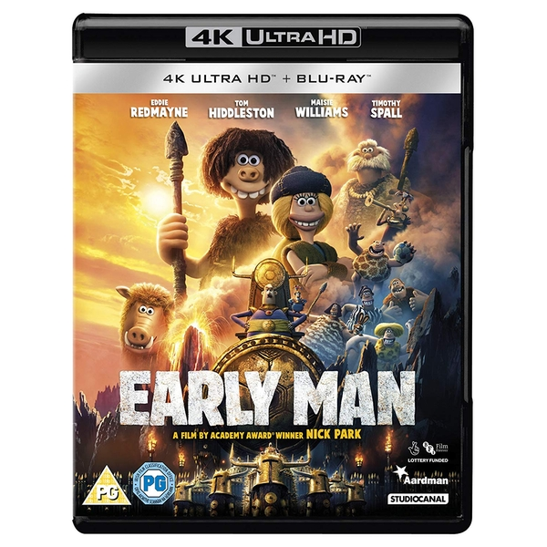 Early Man 4KHD Blu-ray
