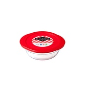 Ocuisine Glass Round Dish with Lid 1.1L