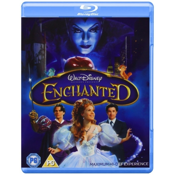 Enchanted Blu-ray