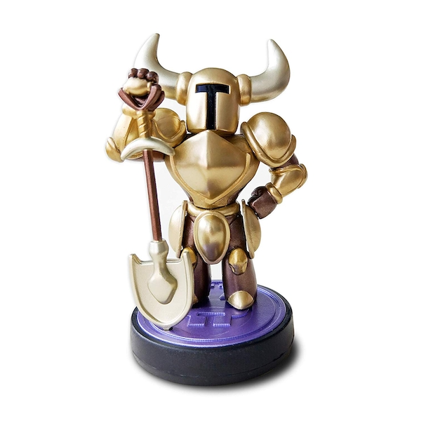 Gold Edition Shovel Knight Amiibo (Shovel Knight Treasure Trove) For Nintendo Switch & 3DS