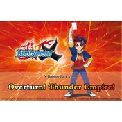 Buddyfight X TCG Overturn! Thunder Empire Booster Box (30 Packs)