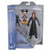 Kingdom Hearts Series 1 Action Figure Set 1 Mickey Mouse Axel & Shadow