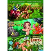 Tarzan / Tarzan 2 / Tarzan And Jane DVD
