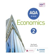 AQA A-level Economics Book 2 by James Powell, Ray Powell (Paperback, 2016)
