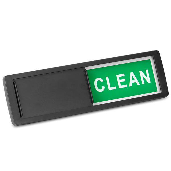Dishwasher Clean / Dirty Sign | Pukkr Black - Image 1