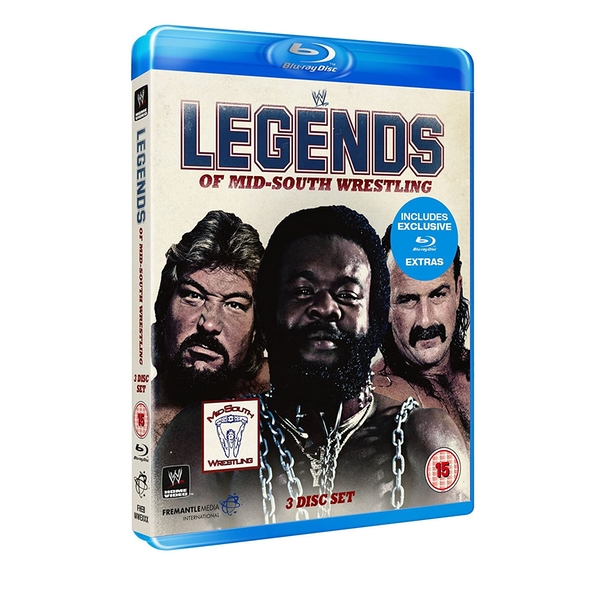WWE - Legends of Mid-South Wrestling Blu-ray 2-Disc Set