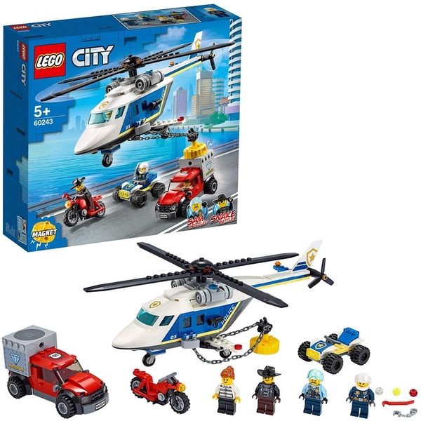 LEGO City Police: Police Helicopter Chase